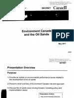 Oilsands Pollution
