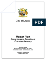 City of Laurel Master Plan Comprehensive Amendment Executive Summary