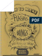 How to Make Flashes Bangs and Puffs of Smoke by Micky Hades