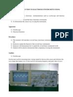Experiment 1 Basic Electronic