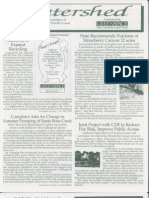 Spring 1998 Watershed Newsletter, Cambria Land Trust