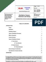 Engineering Design Guidelines -Distillation Column Selection n Sizing - Rev 03 Web
