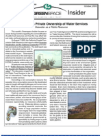 October 2003 Greenspace Insider, Cambria Land Trust