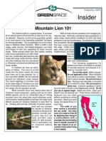 September 2004 Greenspace Insider, Cambria Land Trust