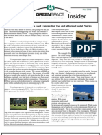 May 2006 Greenspace Insider, Cambria Land Trust