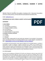 PSICOANÁLISIS DEL CHISTE