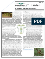 August 2011 Greenspace Insider, Cambria Land Trust