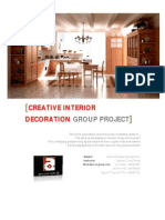 Creative Interior Decoration Project - Group One