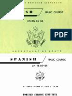 FSI Spanish Basic Volume 4