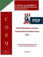 Estudo Hidrodinamico Da Estaca Torpedo Atraves Do Software Ansys CFX