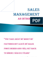 (1) Sales Management
