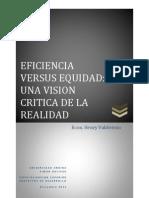 EFICIENCIA - EQUIDAD BREVE ENFOQUE CONCEPTUAL