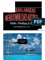 07. Men Download Artikel/Informasi pada Web