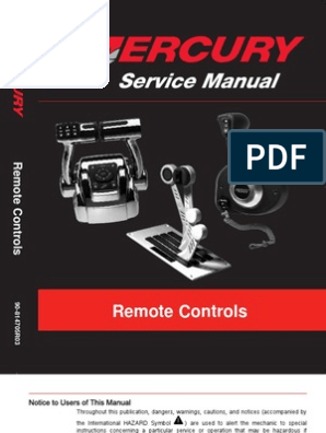 Merc Controls Newest Manual | Electrical Connector | Screw