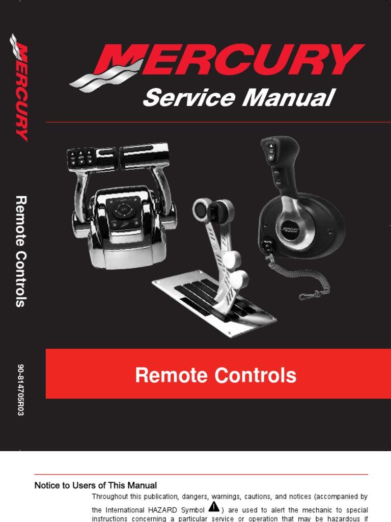 merc controls newest manual electrical connector screw rh scribd com Mercruiser Sterndrive Parts Mercruiser Manuals PDF