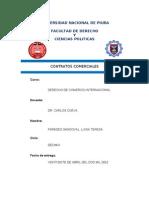 Los Contratos Internacionales DR. CUEVA