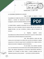Ley Antiterrorismo enviada por el ejecutivo nacional