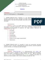 Lei nº 8_112-1990 em exercícios (CESPE) - Aula 01