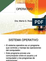 Sistema Operativo Controla Maneja