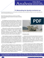 CenPEG Issue Analysis No.3 SPRATLYS Row June 24 2011
