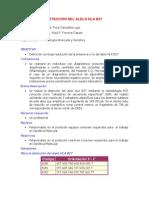 Deteccion Del Alelo Hla b27