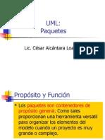 Sesion 6_1 UML - Paquetes