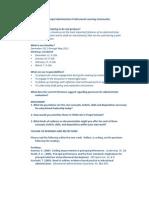 Propel Administrator PLC Dec 12 2011 Agenda