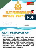 52233032 Alat Pemadam API
