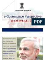e-Governance Perspective at the CMO- Govt. of Gujarat