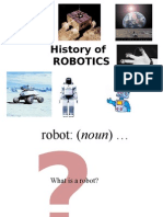 Lect 1 History of Robot