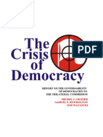 13139219 the Crisis of Democracy