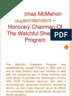 Dr. Thomas McMahon Superintendent