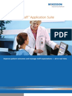 Healthcare Staff Management Software - ANSOS One-Staff Application from McKesson