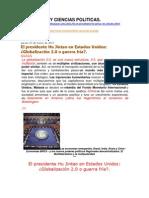 Globalizacion Sociologia y Ciencias Politicas