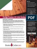 Prestige Cedar Decking