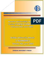 2009 vol2 L'Institut Economique Roumain (I.E.R.)
