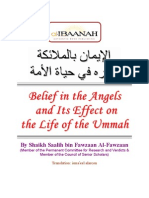 Belief in the Angels and Its Effect on the Life of the Ummah (Islamic Nation) - by Shaikh Dr. Salih bin Fawzan al-Fawzan