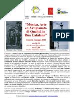 Le botteghe e le fabbriche dello sviluppo - Rua Catalana