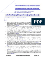 Burma's Weekly Political News Summary (098-2011)