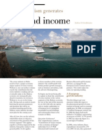 Cruise Tourism Generates Jobs & Income