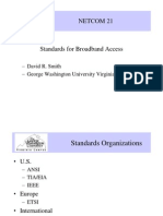 Standards for Broadband Access