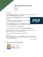 Dvd1. Intro-effortless Method Lessons