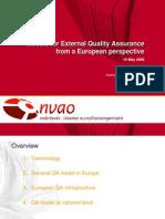 Approaches and Models of External QA_Axel_Aerden_eng