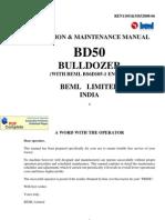 Beml Bd50 Bulldozer o & m Manual