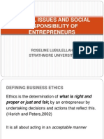 20146549 Ethical Issues Social Responsibility
