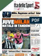 Gazzetta dello Sport - 22/12/2011