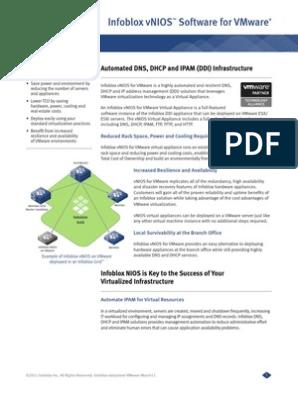 Infoblox Datasheet Vnios Vmware | V Mware | Computer Engineering
