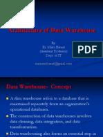 DW Architecture & DataFlow