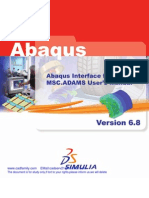 Abaqus Interface for Adams
