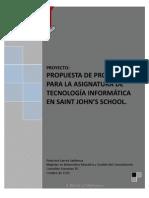 Proyecto Programa Asignatura Tecnología Informática